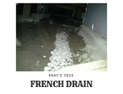 French Drain Blog