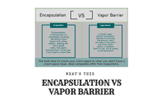 Encapsulation v Vapor Barrier