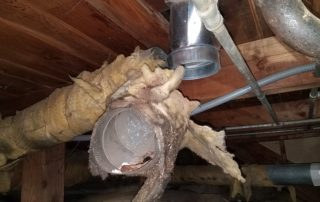 portland crawl spaces, crawl space restoration, portland oregon, oregon crawl space restoration, dryer vent